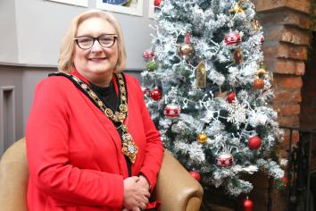 Christmas message from the Mayor of Causeway Coast and Glens Borough Council