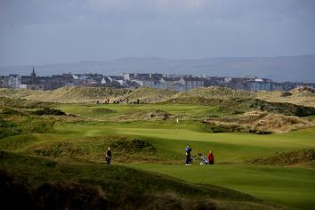Doing the business ahead of The Open