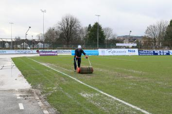 Council sets out plans to restore Ballymena Showgrounds pitch