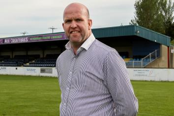Mark proud to be new Limavady United boss