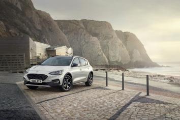 Five-door hatchback undergoes the crossover treatment