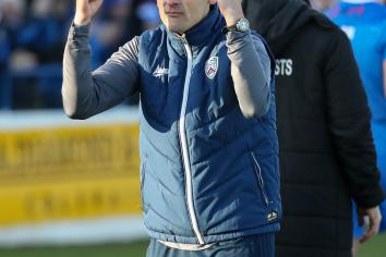 Oran Kearney calls for continued support ahead of Linfield clash