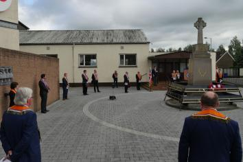 Limavady District LOL No.6 marks the 104th Anniversary of the Battle of the Somme