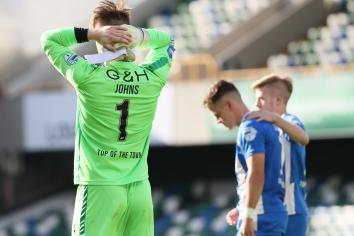 Chris Johns leaves to join league champions Linfield