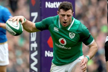 Ireland make seven changes for Italy game