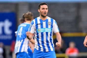 Neil McCafferty special guest on latest Coleraine FC podcast