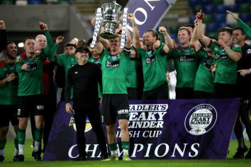 Up to 1,000 fans to attend Irish Cup final
