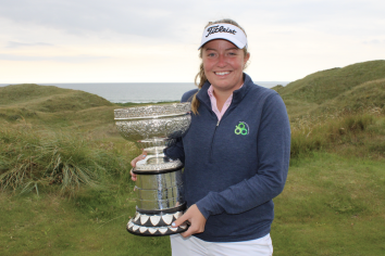 Anna Foster wins the AIG Irish Women's Amateur Close Championship