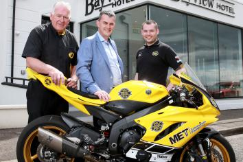 Belfast firm Clyde Shanks confirms support for Armoy Road Races