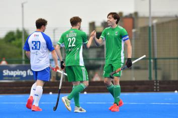 Six uncapped players in Ireland Men's Hockey squad