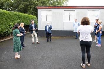 Education Minister visits Magilligan Field Centre