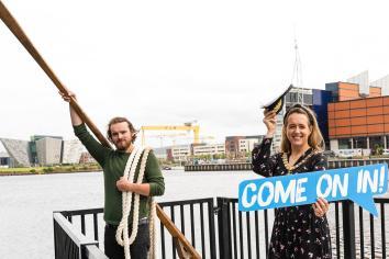 Belfast Maritime Weekender brings city's history to life