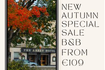 Autumn special at the Abbey Hotel