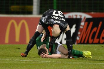 Glens' keeper charged with bringing game into disrepute