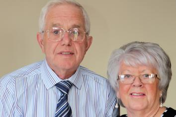 50 years for Mary and Irwin
