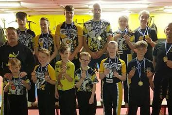Medal haul for Titans at Scottish Open