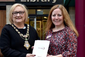 New Out of Hours service at Dungiven Library