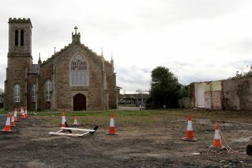 Foundation 'footed' on Bethany Community Hall