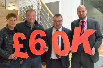 Limavady sheep farmers herd in £60k for cancer research